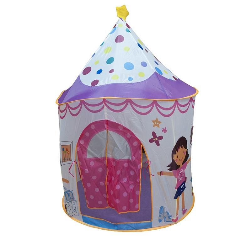 Игровой Дом Ching-Ching Домик принцессы + 100 шаров (106х106х150см)