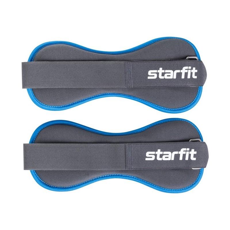 Утяжелители универсальные Starfit 1,5 кг WT-501 черно-синий
