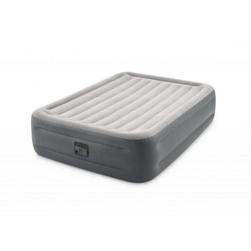 Надувная кровать Intex Queen Essential Rest Airbed 152х203х46 см с эл/насосом 220-240V 64126NP