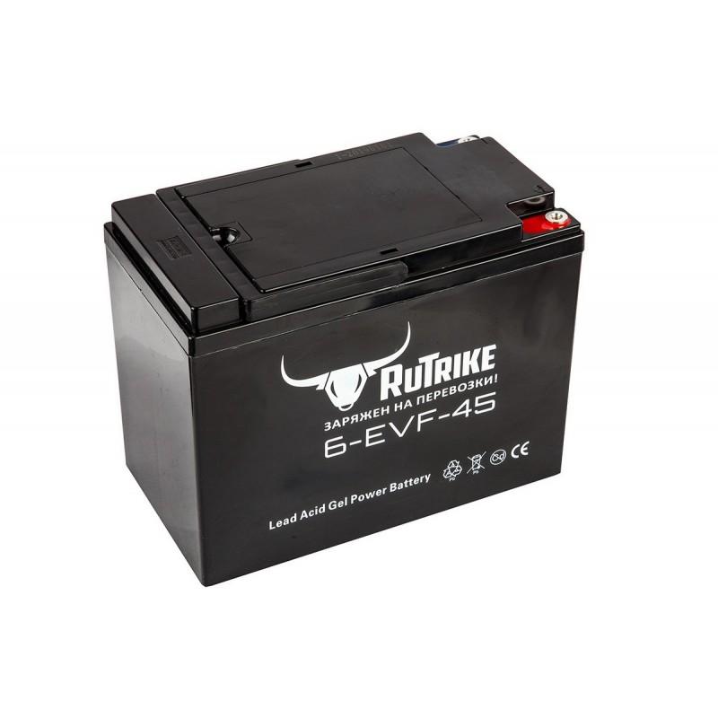 Тяговый гелевый аккумулятор RuTrike 6-EVF-45 21663