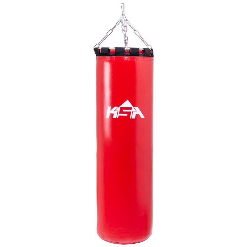 Мешок боксерский KSA PB-01, 150 см, 80 кг, тент, красный