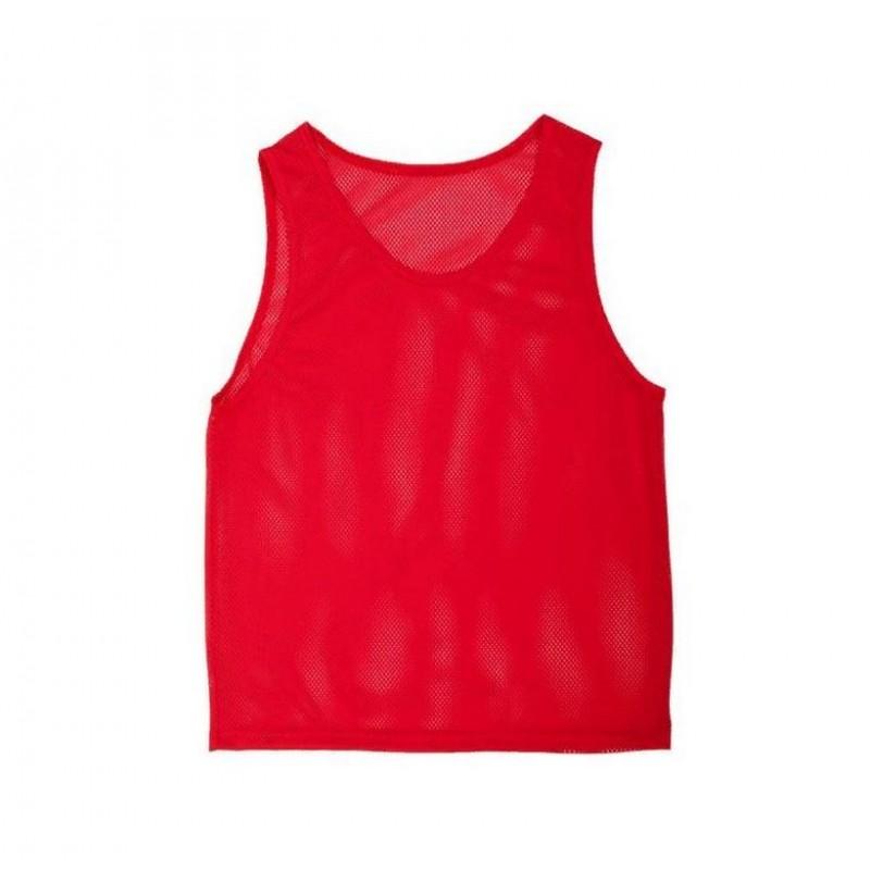 Манишка сетчатая Body Form детская AC-MSD-05 односторонняя, красная