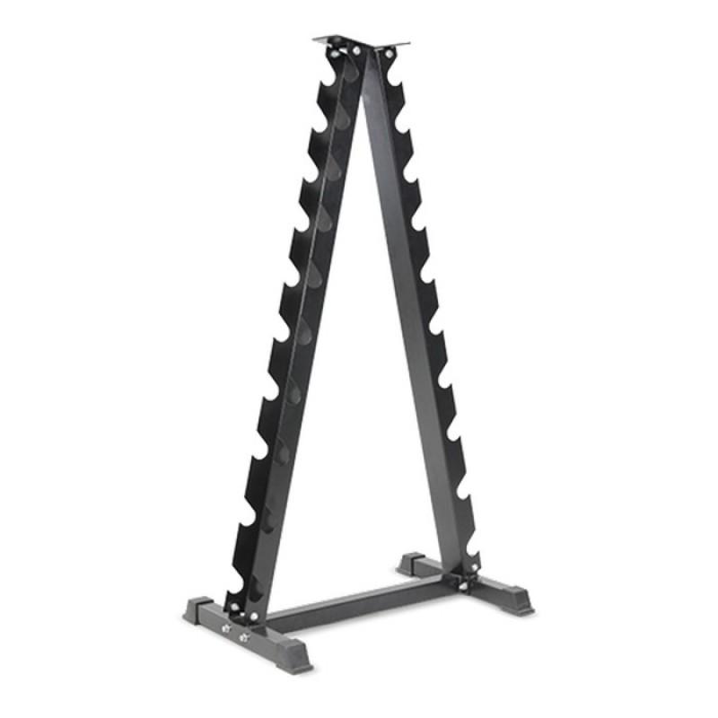 Стойка для хромированных гантелей Bronze Gym BR-1035