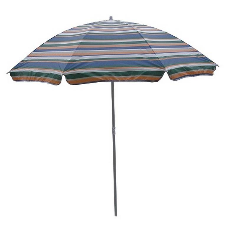 Зонт пляжный 001-025 радужный 200см