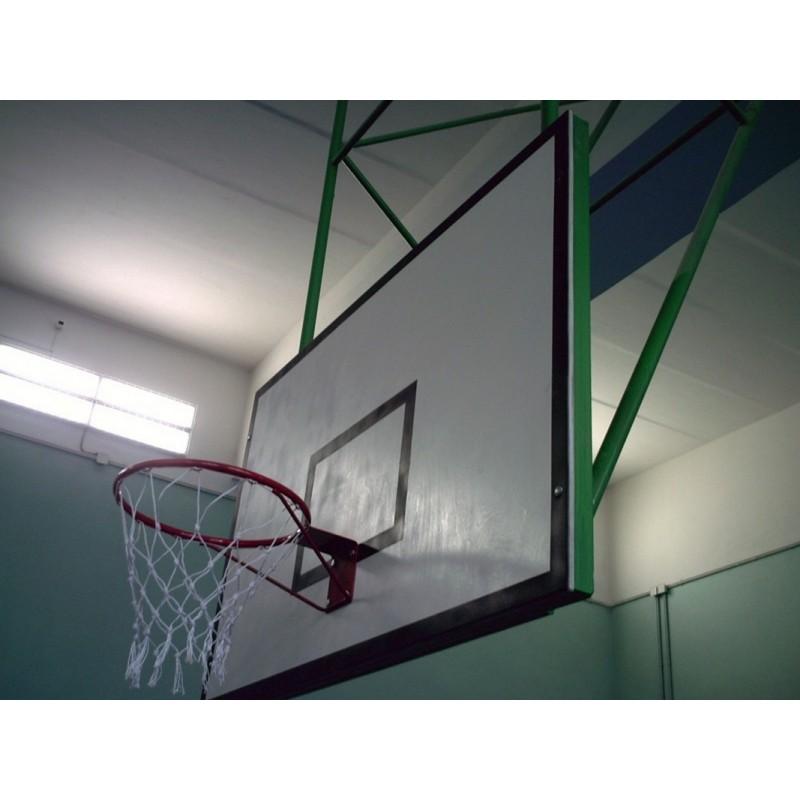 Щит баскетбольный Atlet игровой, фанера 18 мм, 180х105 см на металлической раме IMP-A05