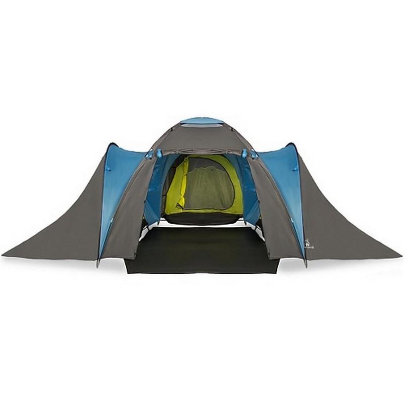 Палатка 6-и местная Greenwood Campus серый/голубой (245)