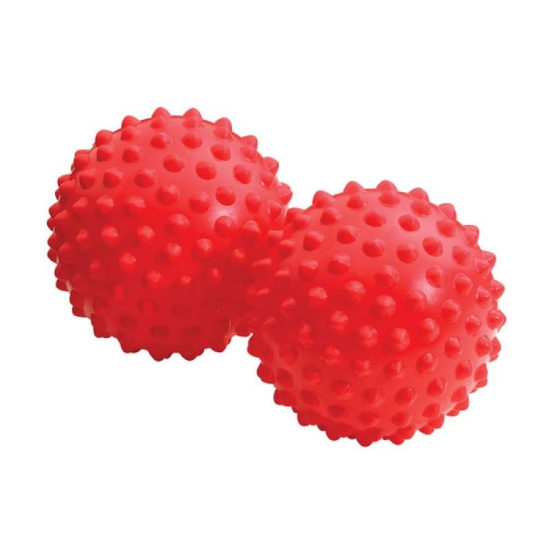 Мячи для релаксации Franklin Method Universal Mini пара, диаметр 7,5 см, красный