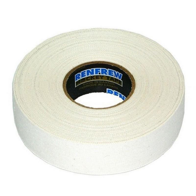 Лента для клюшек Renfrew Cloth Tape белая 24мм х18м