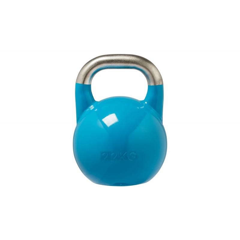 Гиря соревновательная стальная 22 кг DB 2180 U голубой