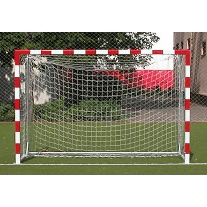 Сетка для футбольных ворот ФСИ 030650, нить 5,0 мм (3х2х1м) белая
