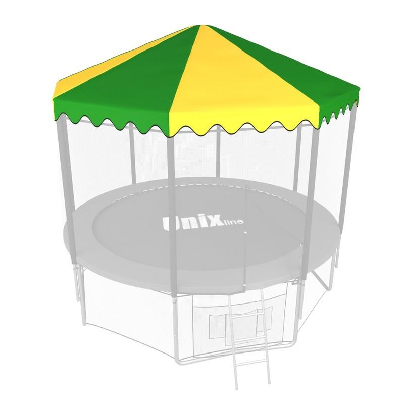 Крыша для батута Unix Line line 8 ft green yellow
