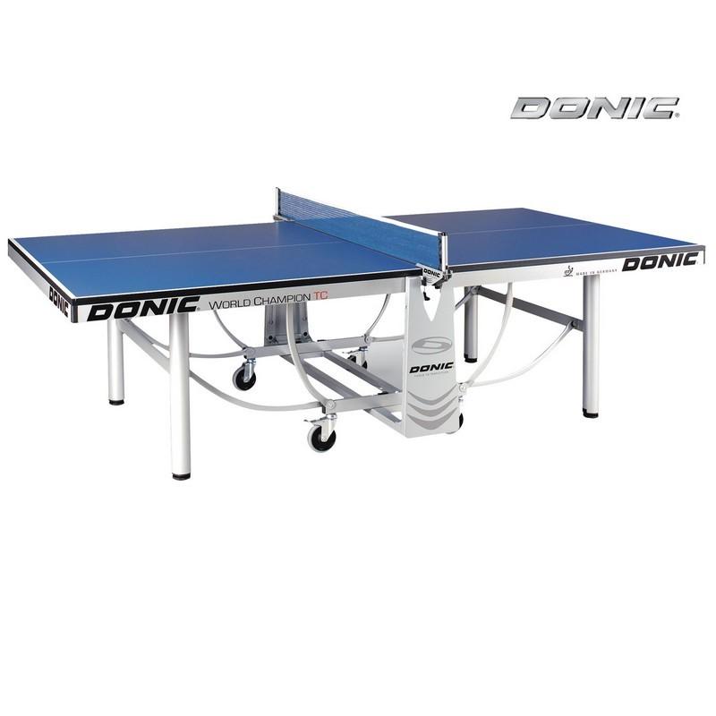 Теннисный стол Donic World Champion TC без сетки 400240-B blue