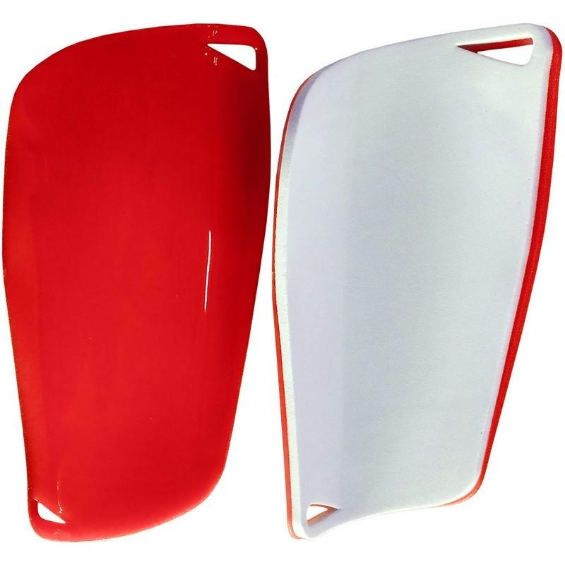 Щитки футбольные юниорские C33335 красные
