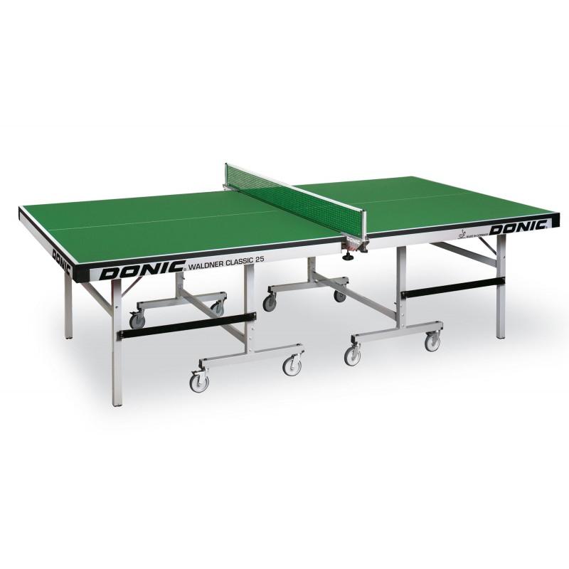 Теннисный стол Donic Table Waldner Classic 25 400221-G зеленый