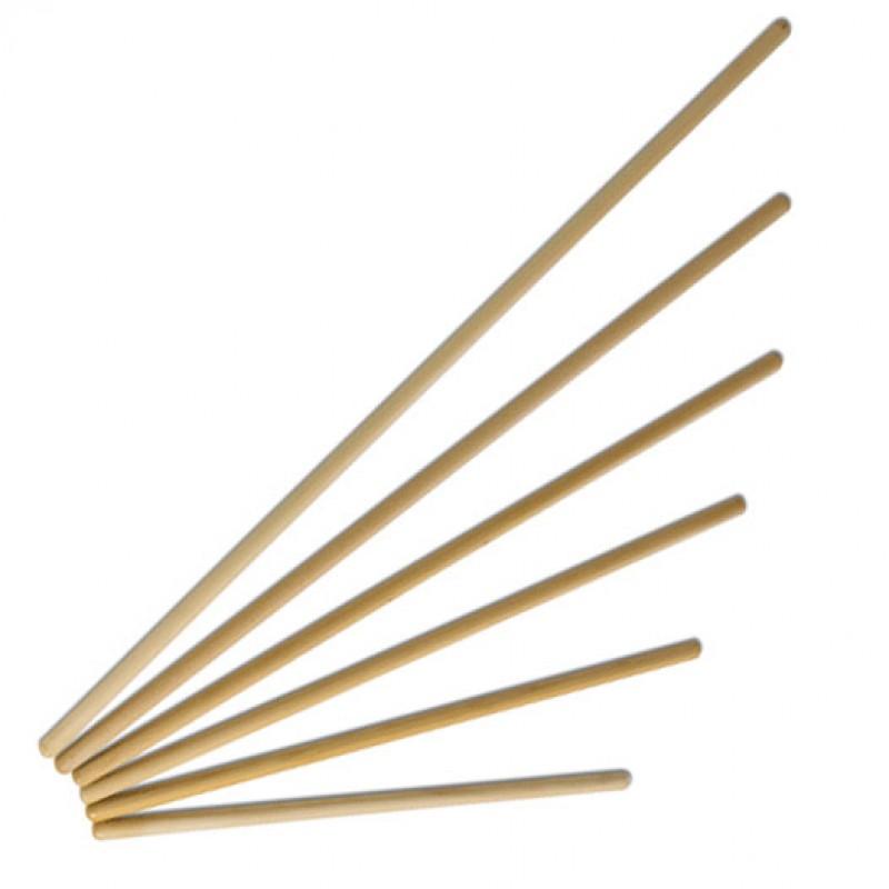 Гимнастическая деревянная палка 110см, d28 мм