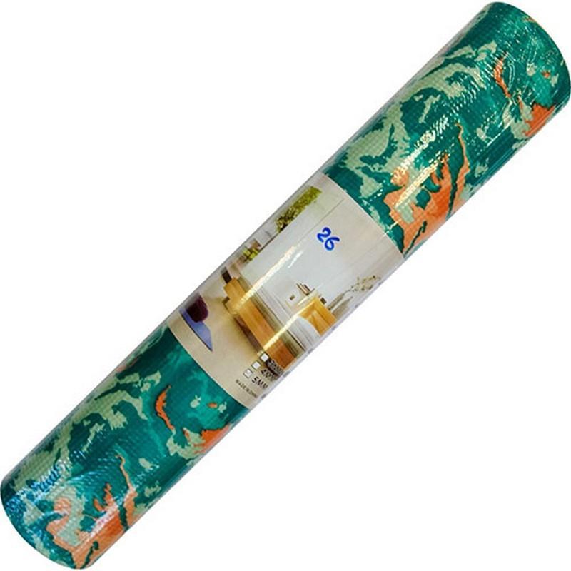 Коврик для йоги 173х61х0,5 см ПВХ (с принтом) C28781-26
