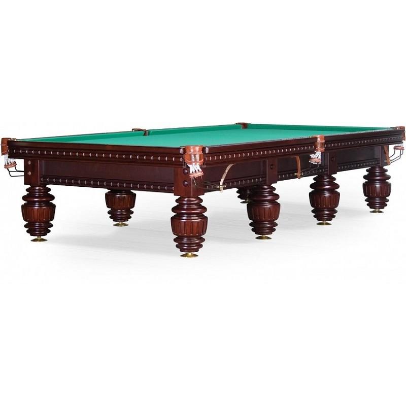 Бильярдный стол для русского бильярда Turnus II 11 ф 55.991.11.1 махагон