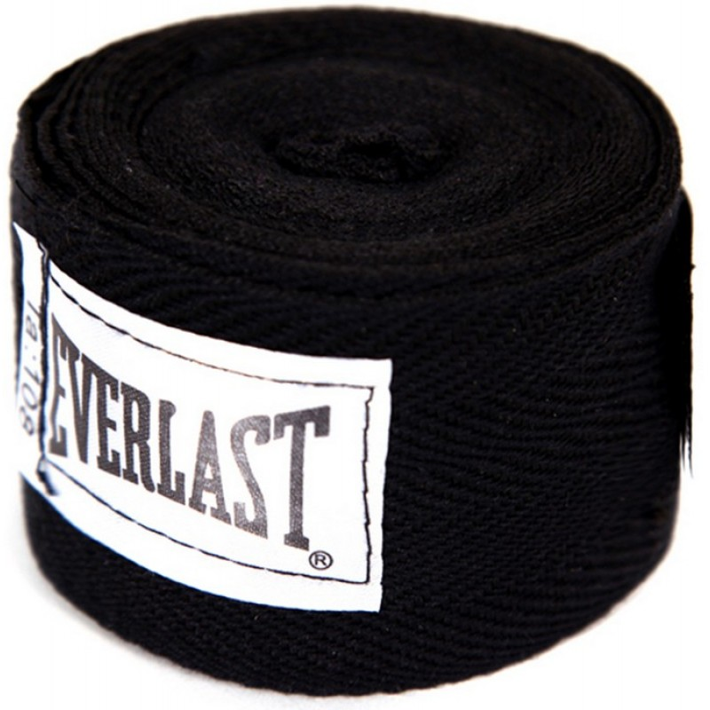 Бинты Everlast 2,75 м (пара) черный 4455BPU