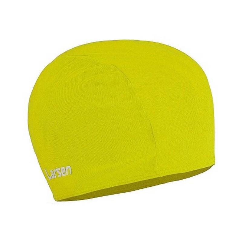 Шапочка плавательная Larsen 3220D желтый