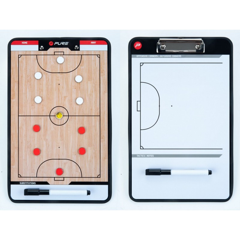 Доска тренерская для мини футбола Pure2Improve Coach Board Futsal P2I100650