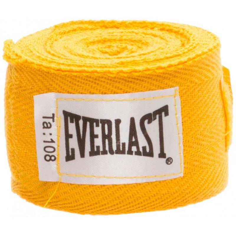 Бинты Everlast 2,75 м (пара) 4455GU желтый