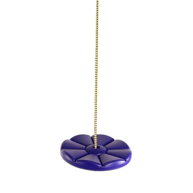Пластиковые качели-диск Лиана Kampfer 53655 Синий