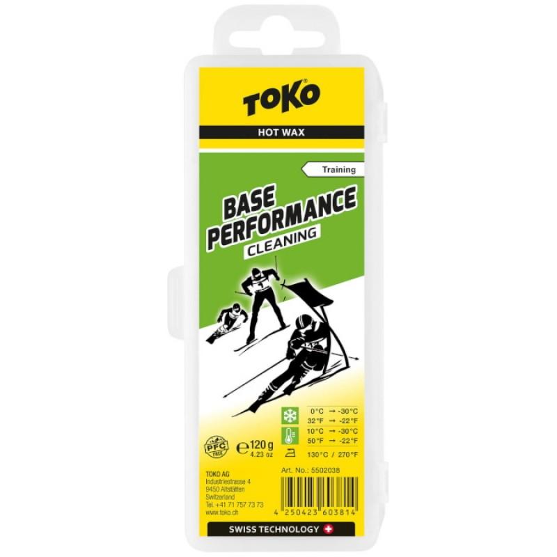 Парафин углеводородный TOKO Base Performance cleaning 120 г. 5502038