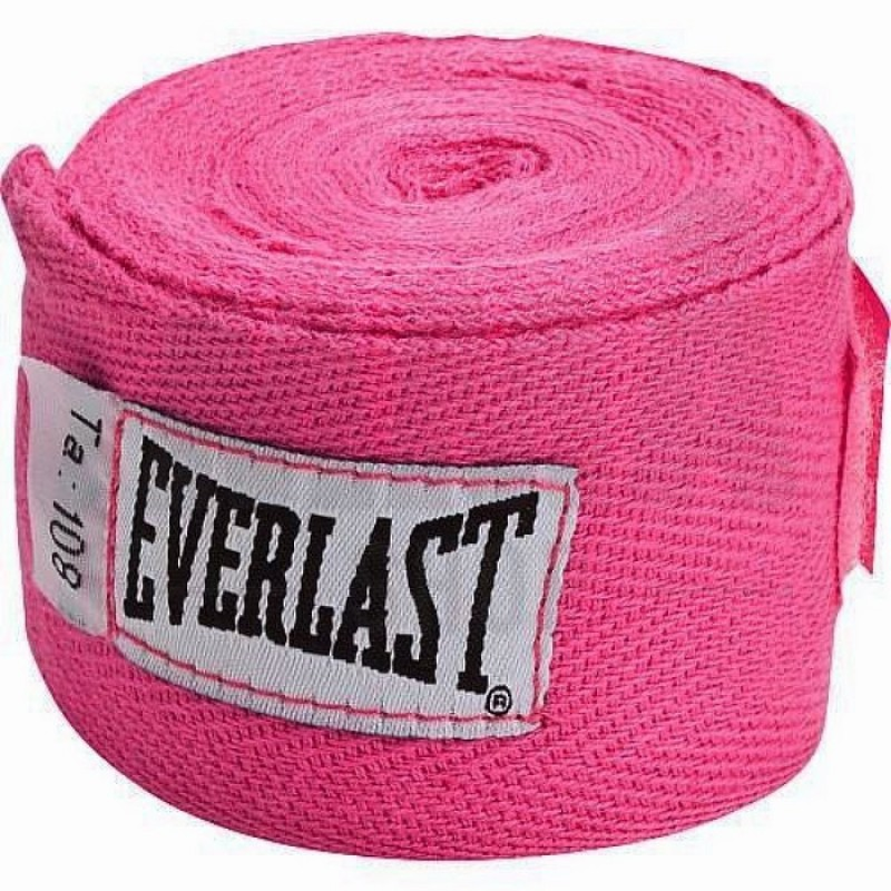 Бинты Everlast 2.75 м (пара) розовый 4455PNKU