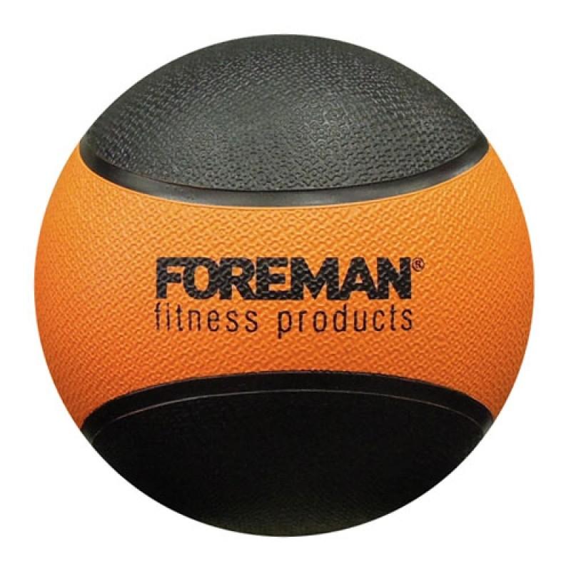 Haбивнoй мяч Foreman Medicine Ball 1 кг FM-RMB1 оранжевый