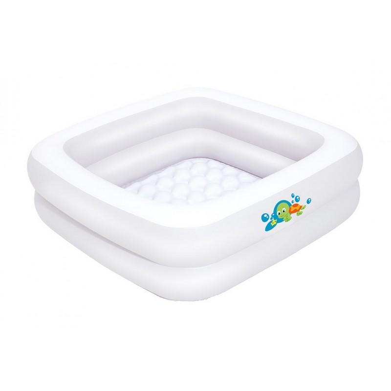Детский бассейн прямоугольный Bestway 86х86х25 см 51116