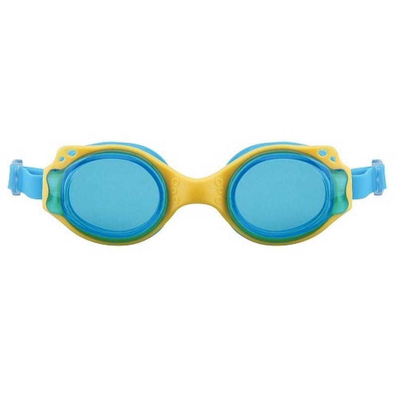 Очки для плавания детские Larsen DS-GG209 yellow\blue