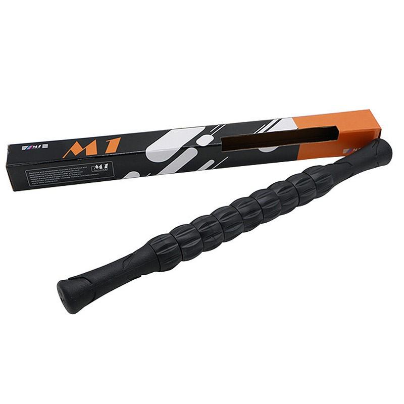 Ролик палка гимнастическая массажная Hawk М1 (черный) B31267-4