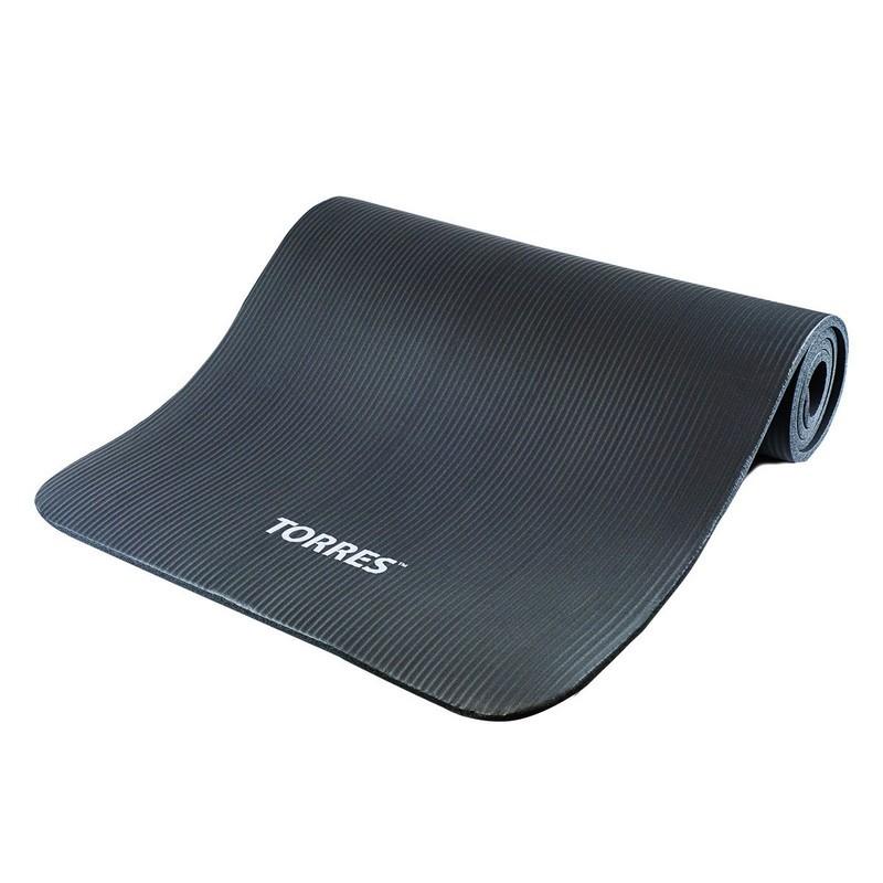 Коврик для йоги 181х61x1см Torres Soft YL10110 серый
