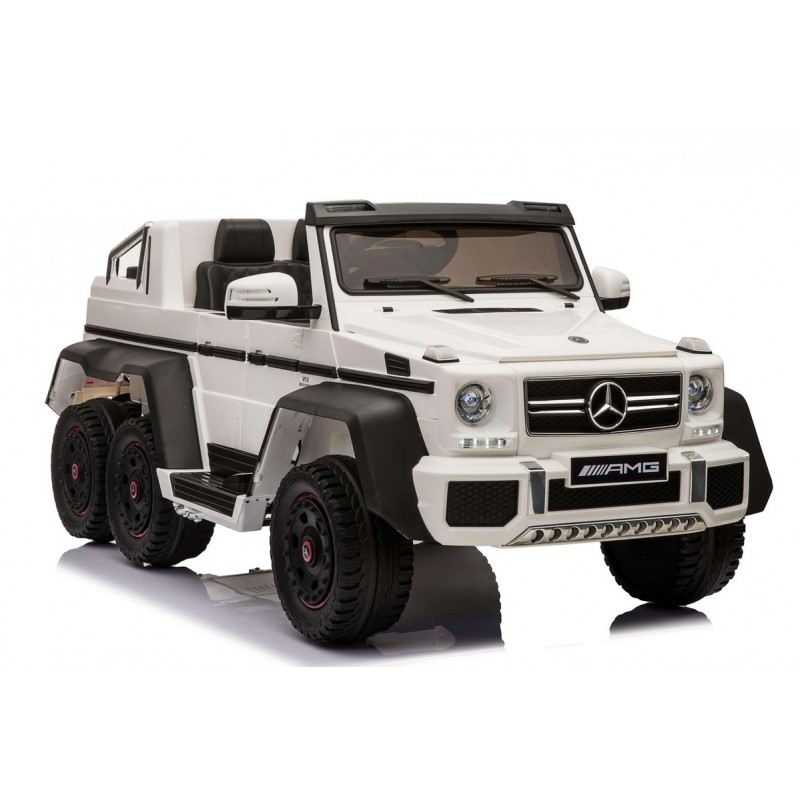 Электромобиль River-Toys Mercedes-Benz G63 AMG 4WD A006AA White