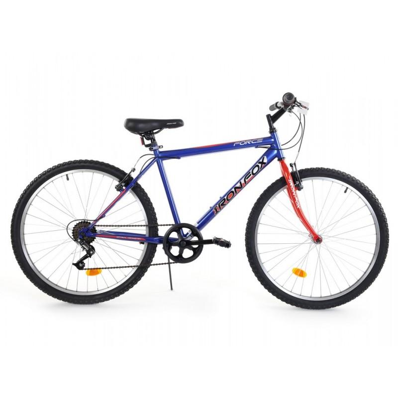 Велосипед Iron Fox Force 26 6ск, (18,26 quot;) синий\красный