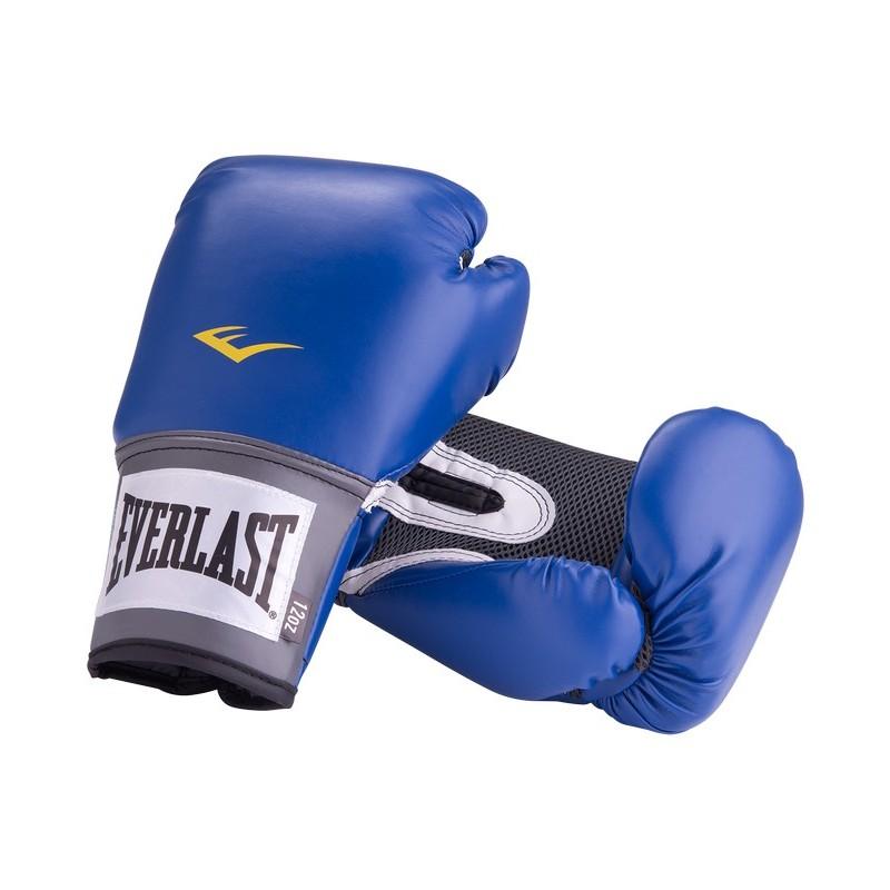 Перчатки боксерские Everlast Pro Style Anti-MB 2210U, 10oz, к/з, синий