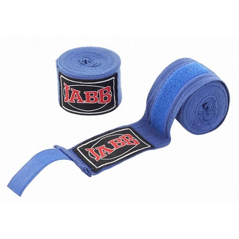 Бинты боксерские Jabb х/б, 350 см JE-3030 синий