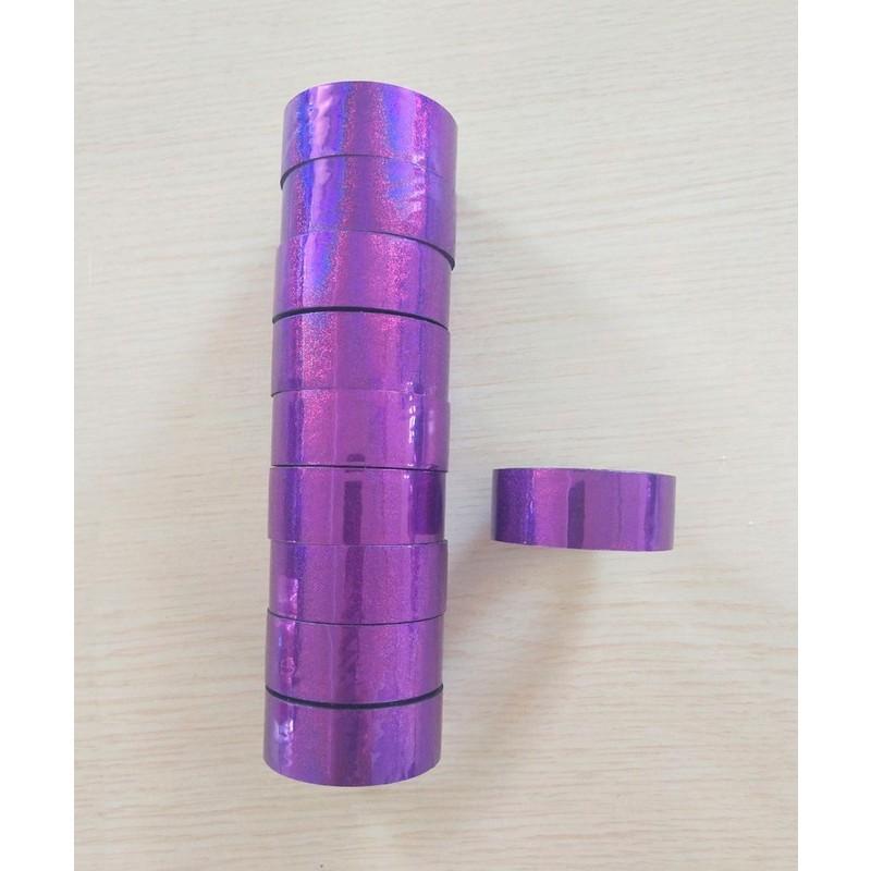 Скотч-лента для художественной гимнастики Amely AGS-301 20 мм, 15 м, фиолетовый
