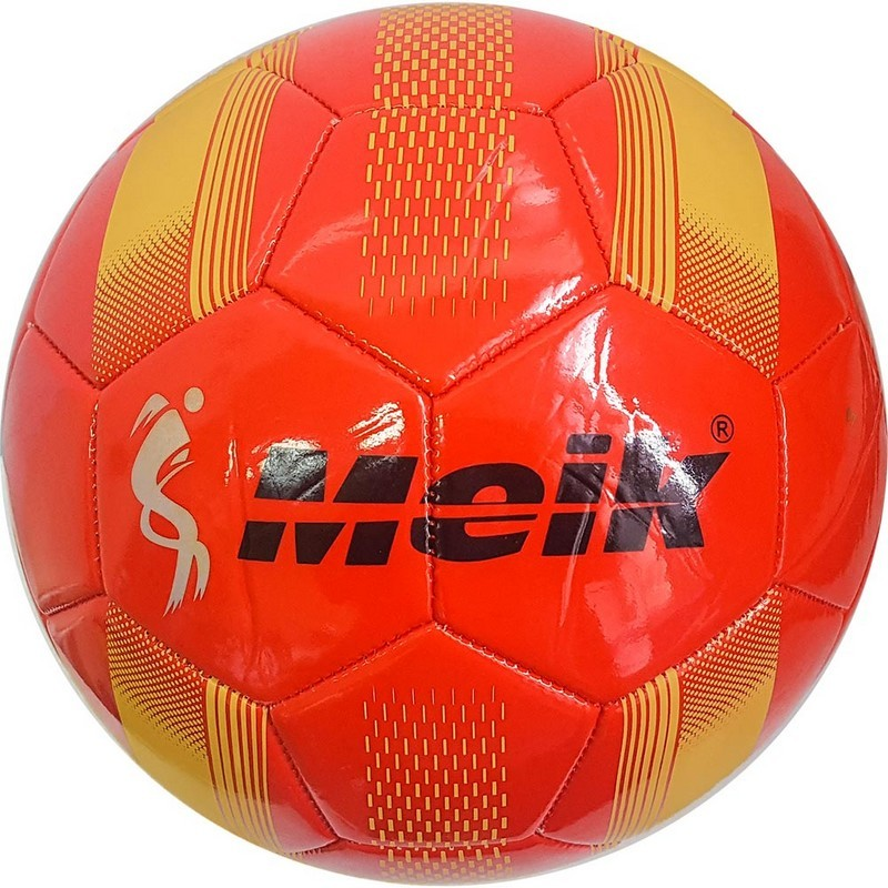 Мяч футбольный Meik 078 B31315-2 р.5 красный