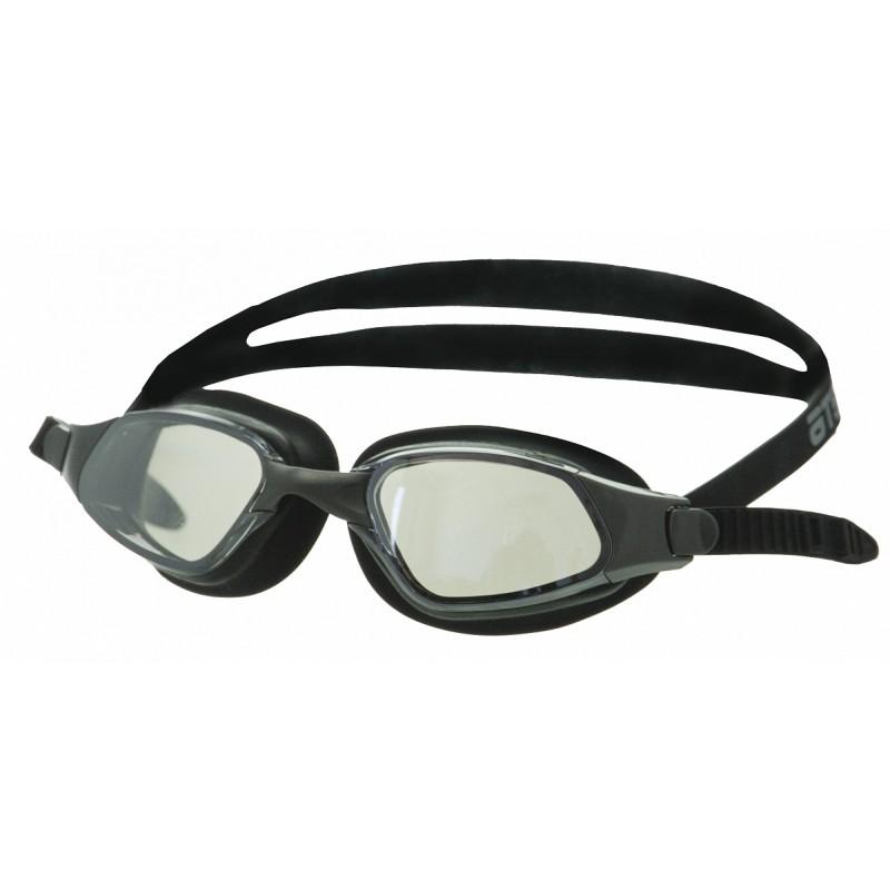 Очки для плавания Atemi B301M чёрный, зеркальные