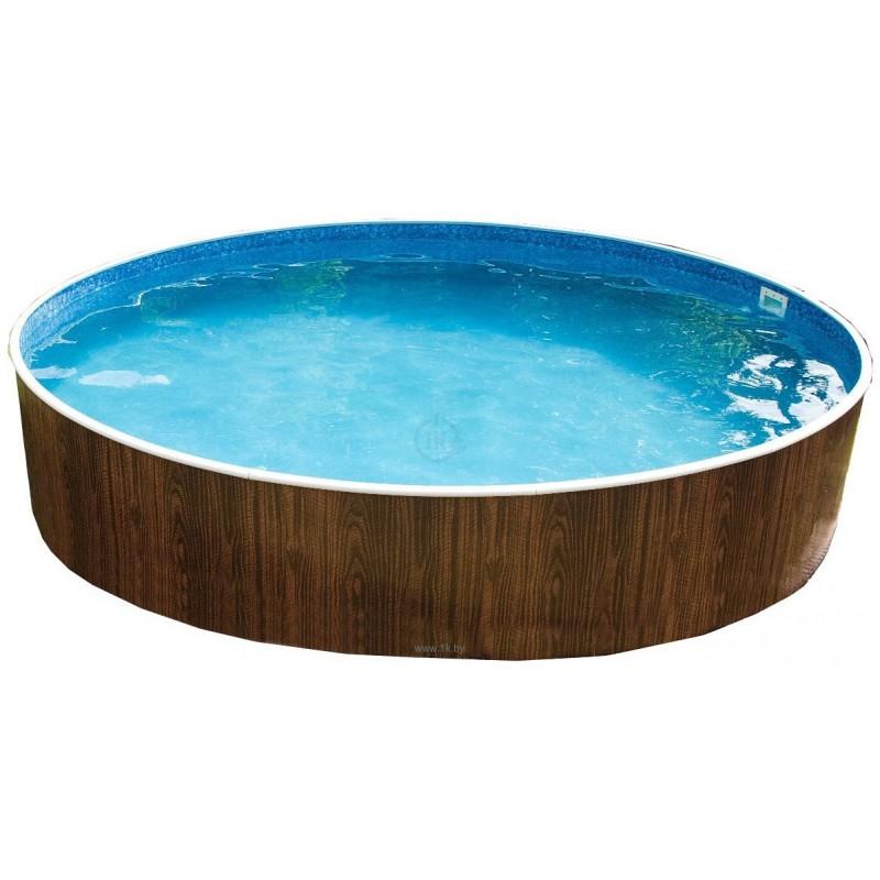 Морозоустойчивый бассейн Azuro 400DL, круглый 3,6х1,2 м Basic
