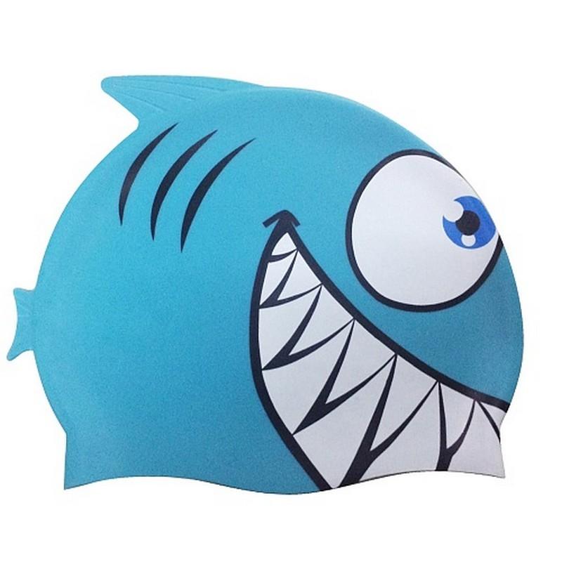 Шапочка для плавания, детская Larsen LSC10 синяя