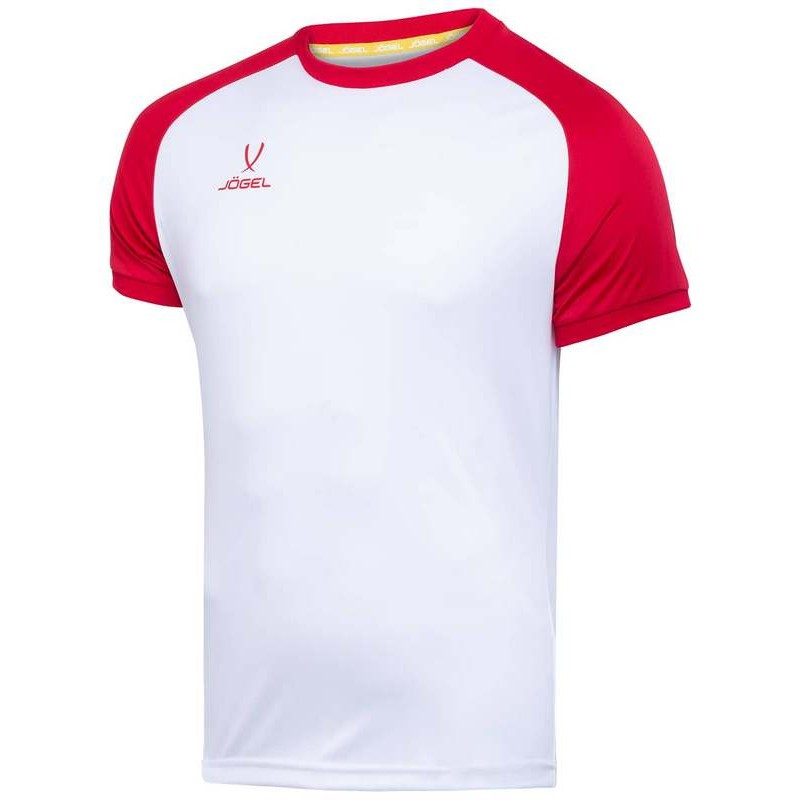 Футболка футбольная J?gel JFT-1021-012, белый/красный