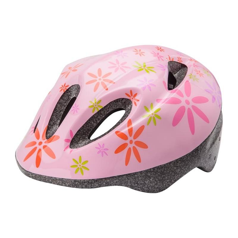 Шлем защитный Stels MV-5 розово-красн-зеленый 28821