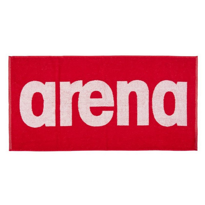 Полотенце Arena Gym soft towel 50x100см, 100% хлопок 001994 410 красный