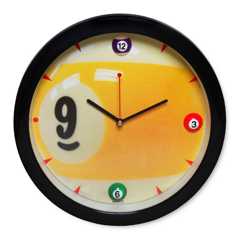 Часы Fortuna Бильярд SN5025 d29,5см