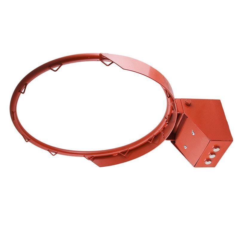 Кольцо баскетбольное № 7 амортизационное, диаметр 450 мм, MR-BRim7Am, красное