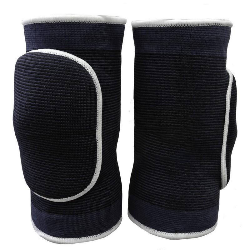 Наколенники волейбольные NK-304 Черный\Белый