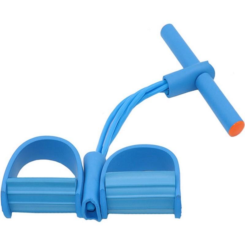 Эспандер многофункциональный с петлями для ног (синий) B34485