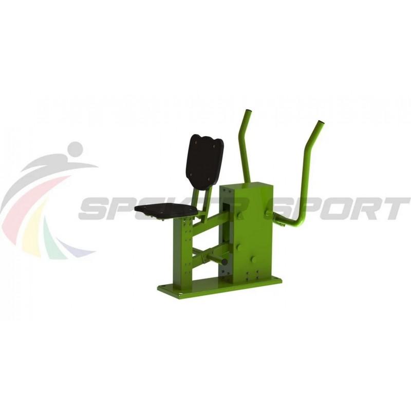 Уличный тренажер взрослый Жим к груди для одного Spektr Sport ТС 158